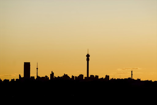 A file photo of the Johannesburg skyline.