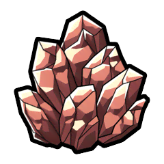 牡丹の鉱石