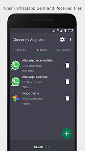 Cleaner by Augustro (67% OFF) Screenshot