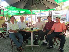 Ảnh: Chào mùng thầy Phạm Anh Tuấn về VN ăn Tế