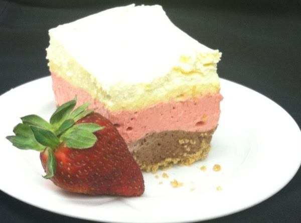 Neapolitan Mousse Bar Recipe