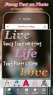 Text Photo Collage : Text Photo Editor - náhled
