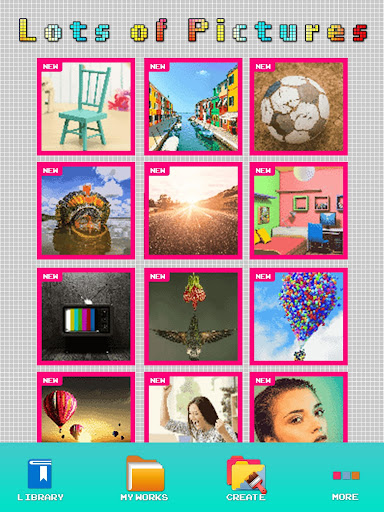 Pixel picture Color By Number Sandbox Art 1.0 screenshots 2
