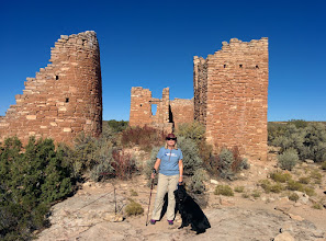 Photo: Hovenweep allows dogs on trails--better than hot cars