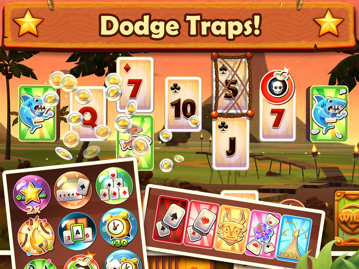 Screenshots of Solitaire TriPeaks for iPhone