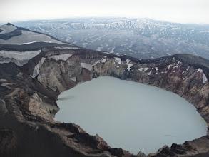 Photo: озеро в кратере М. Семячика