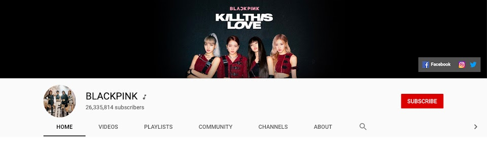 blackpink youtube