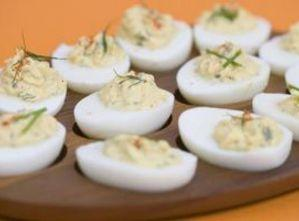 Eggs Mimosa With Tuna Filling Recipe