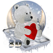 Teddy Bear Love 3D Theme