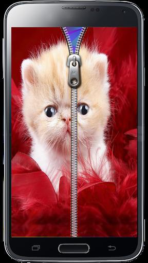 玩免費生活APP|下載可爱的小猫屏幕锁定 app不用錢|硬是要APP