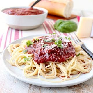 29 Minute Spaghetti Sauce.