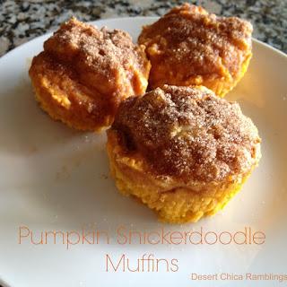 Pumpkin Snickerdoodle Muffins.