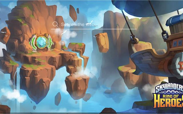 Skylander Ring of Heroes Wallpaper Game