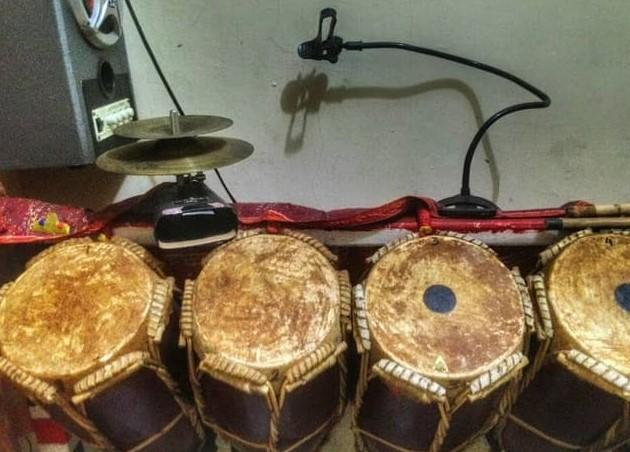 Alat musik tradisional taganing