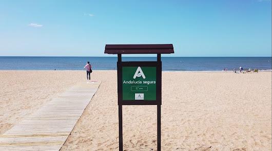 Las playas de Almería, las más seguras de Andalucía frente a la Covid-19