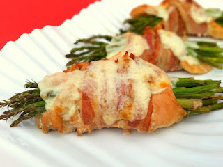 Asparagus Chicken Wraps Recipe