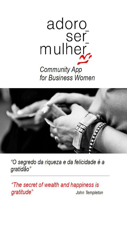 Internacional Network for Business Women– captura de ecrã