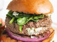 Blue Cheese-stuffed Burgers