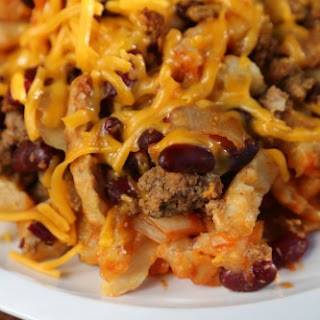 Crock Pot French Fry Casserole