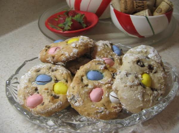 Chocolate Treasure Easter Cookies