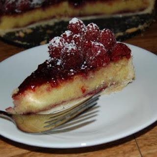 Raspberry Marzipan Tart