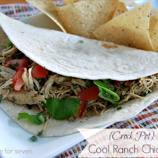 {Crock Pot} Cool Ranch Chicken