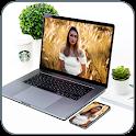 Laptop Photo Frames Laptop Photo Editor icon