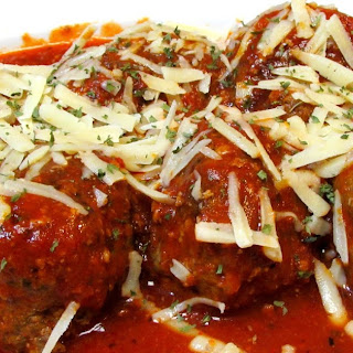 Italian Meatballs and Tomato Sauce (Low Carb Recipe).