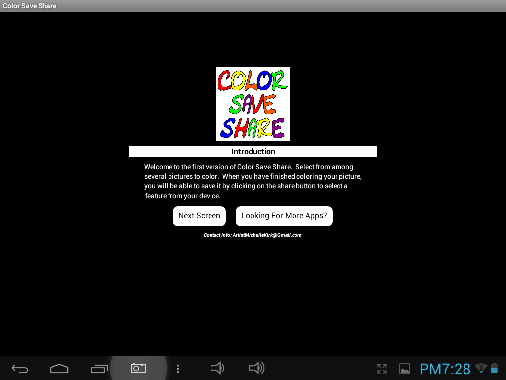 Color Save Share- screenshot