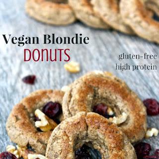 Vegan Blondie Donuts