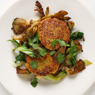 Pan-Fried Coconut Curry Quinoa Cakes