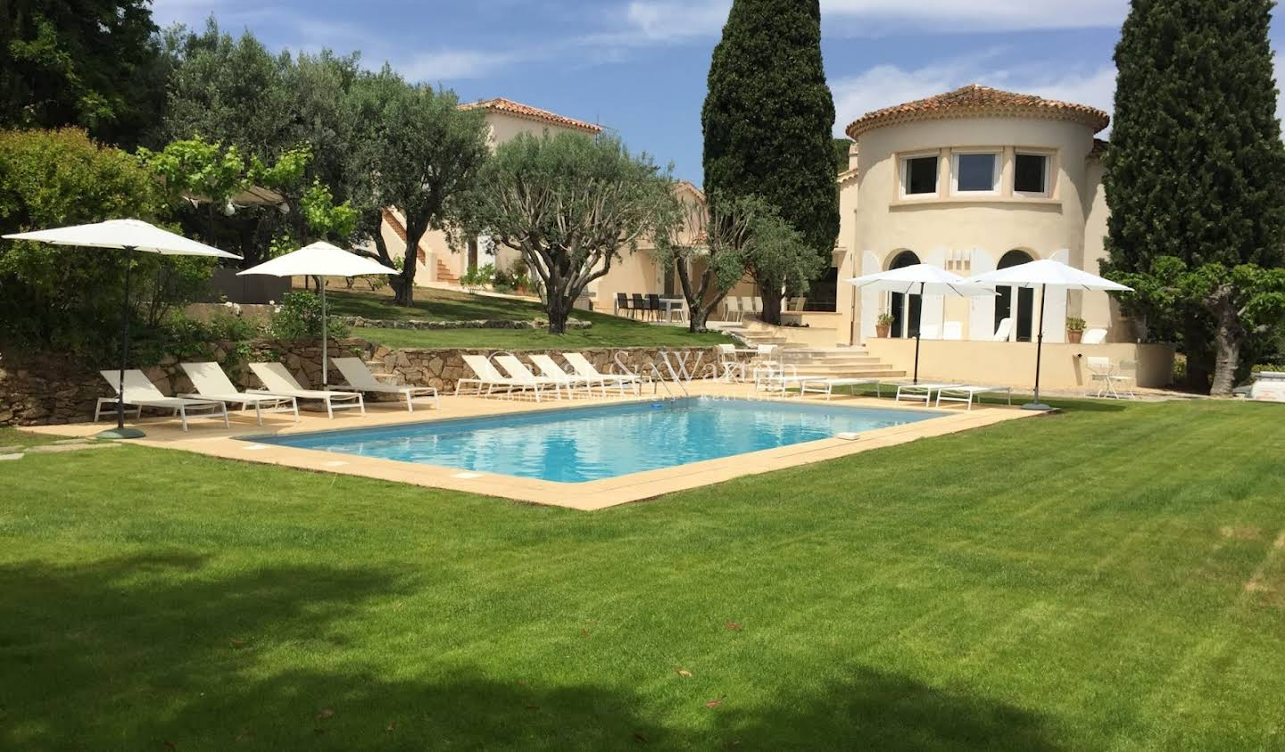 Villa with pool and terrace Saint-Tropez