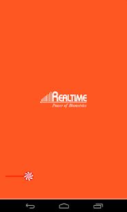 Realtime Attendance - náhled