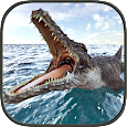 Crocodile Simulator Beach Hunt icon