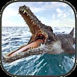 Crocodile Simulator Beach Hunt Icon