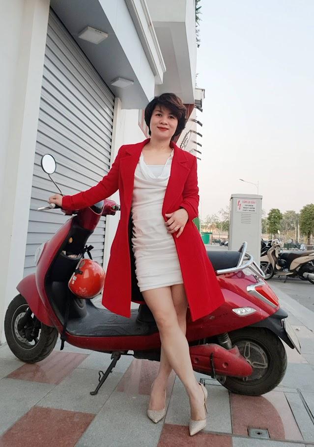 Áo khoác nữ dáng dài thời trang thuỷ hải phòng