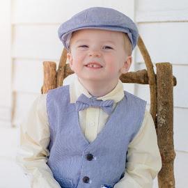 Little Boy Blue by Kellie Jones - Babies & Children Children Candids