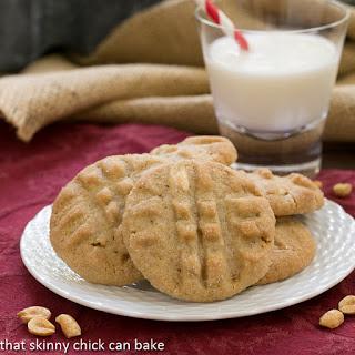 Classic Peanut Butter Cookies #GrabSomeNutsDay
