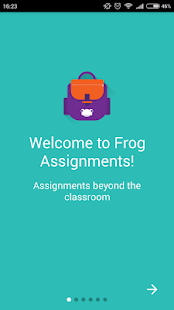 Frog Assignments- screenshot thumbnail