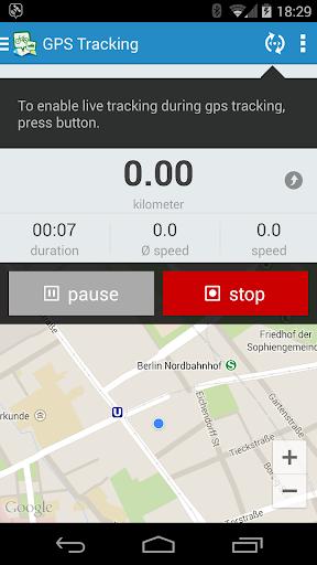 GPSies screenshot 8