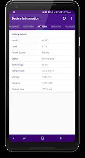 App Device Information - System & Hardware specs APK for Windows Phone