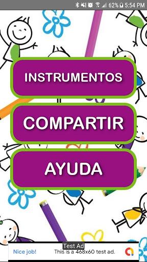 Juego para Colorear Instrumentos Musicales 5.0 screenshots 2