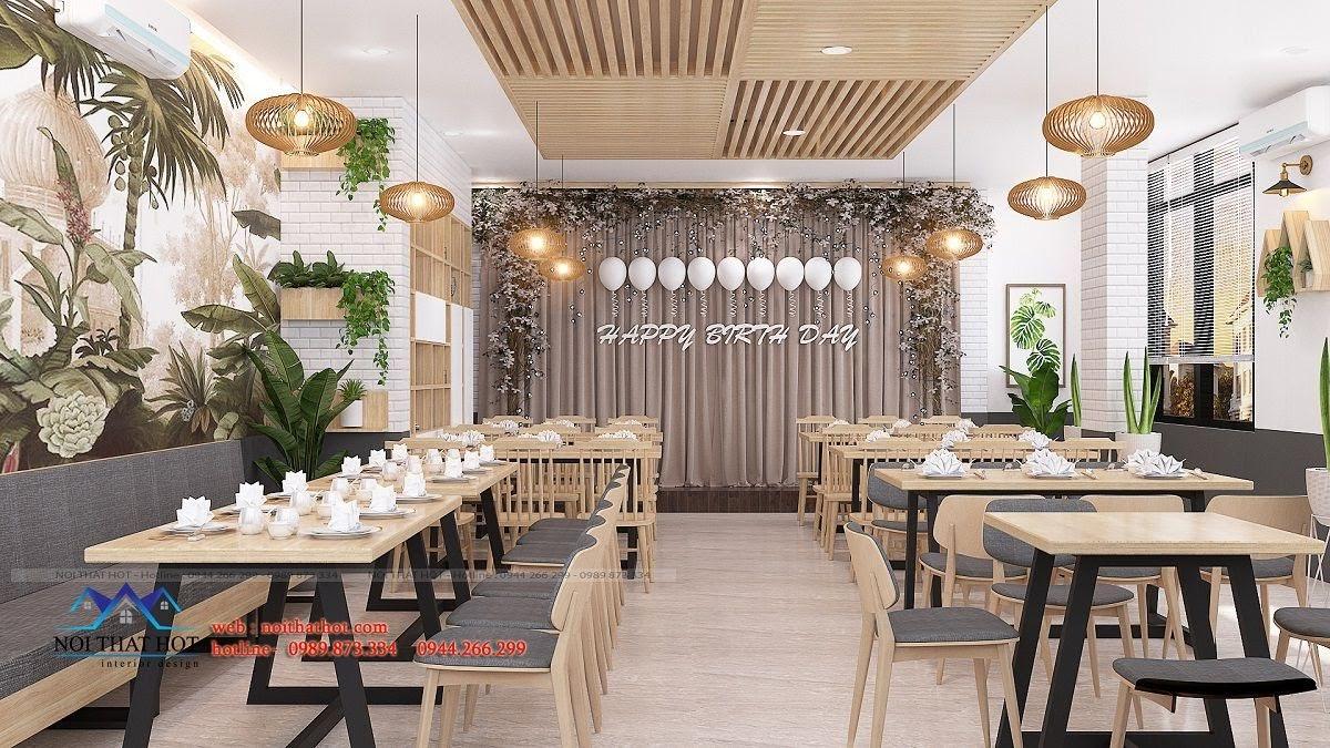 thiết kế nhà hàng trường giang 22