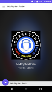 MixRhythm Radio- screenshot thumbnail