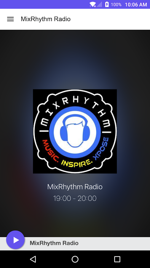 MixRhythm Radio- screenshot