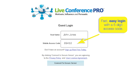 Live Conference PRO ™- screenshot thumbnail