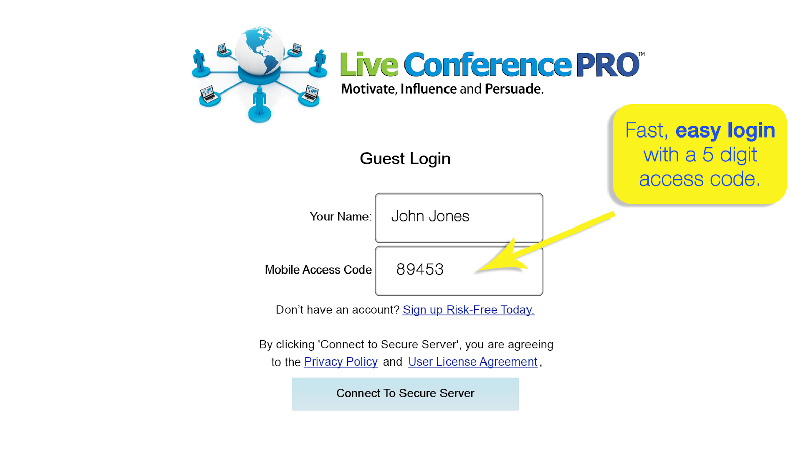 Live Conference PRO ™- screenshot