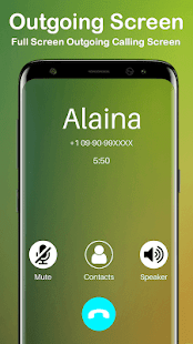 Call theme changer-photo caller screen dialer - náhled