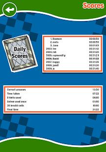 Astraware Crosswords- screenshot thumbnail