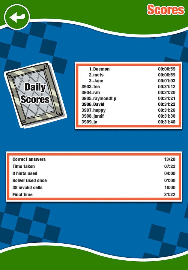Astraware Crosswords- screenshot